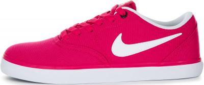 Кеды женские Nike SB Check Solarsoft, размер 37Кеды <br>Скейтерские кеды от nike станут идеальным завершением образа в спортивном стиле.