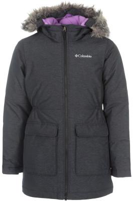 Куртка утепленная для девочек Columbia Siberian SkyТеплая удлиненная куртка для девочек от columbia - превосходный выбор для путешествий.<br>Пол: Женский; Возраст: Дети; Вид спорта: Путешествие; Вес утеплителя на м2: 240 г/м2; Наличие мембраны: Нет; Возможность упаковки в карман: Нет; Регулируемые манжеты: Да; Длина по спинке: 59 см; Покрой: Приталенный; Светоотражающие элементы: Нет; Дополнительная вентиляция: Нет; Проклеенные швы: Нет; Длина куртки: Средняя; Наличие карманов: Да; Капюшон: Не отстегивается; Мех: Отсутствует; Количество карманов: 2; Водонепроницаемые молнии: Нет; Застежка: Молния; Технологии: Omni-Heat; Производитель: Columbia; Артикул производителя: 1743451010M; Страна производства: Вьетнам; Материал верха: 70 % нейлон, 30 % полиэстер; Материал подкладки: 100 % полиэстер; Материал утеплителя: 100 % полиэстер; Размер RU: 137-147;