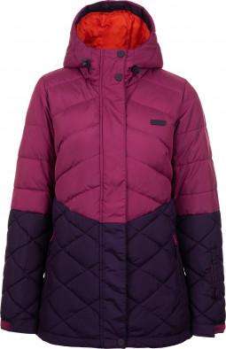 7a11b783c6f Куртка пуховая женская Termit виноградный цвет - купить за 2999 руб ...