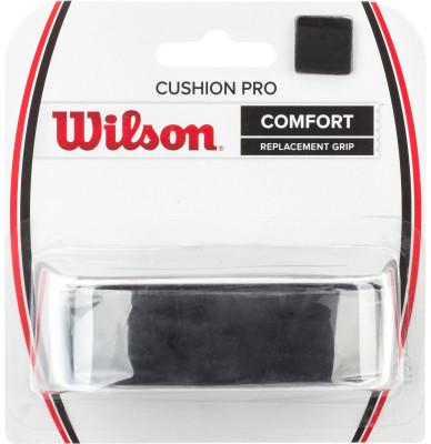 Намотка базовая Wilson CUSHION PRO REPL GRIP BKЛипкая базовая намотка обеспечивает максимальное удобство во время игры и позволяет идеально чувствовать ракетку.<br>Пол: Мужской; Возраст: Взрослые; Вид спорта: Большой теннис; Материалы: Полимерные материалы; Производитель: Wilson; Артикул производителя: WRZ4209BK; Страна производства: Китай; Размер RU: Без размера;