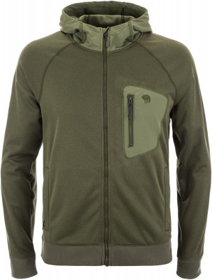 Джемпер мужской Mountain Hardwear Norse Peak, размер 52Джемперы<br>Джемпер с капюшоном от mountain hardwear станет оптимальным средним слоем в походе. Сохранение тепла флисовая подкладка хорошо сохраняет тепло.