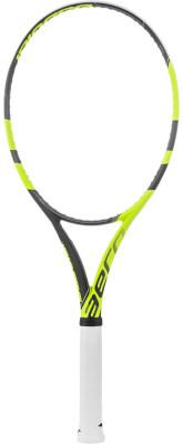 Ракетка для большого тенниса Babolat Pure Aero LiteРакетка pure aero lite идеально подходит для юниоров, которые переходят во взрослый теннис, а также для игроков среднего уровня, которые ищут легкости, маневренности и враще<br>Вес (без струны), грамм: 270; Размер головы: 645 кв.см; Баланс: 330 мм; Длина: 27; Производитель: Babolat; Артикул производителя: 101256; Страна производства: Китай; Вид спорта: Теннис; Размер RU: 3;