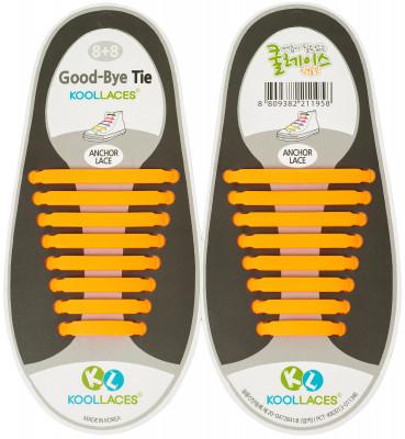 Шнурки силиконовые KoollacesСиликоновые шнурки заменяют традиционные шнурки и позволяют с легкостью снимать и одевать вашу обувь, сохраняя при этом комфорт и функциональность.<br>Пол: Мужской; Возраст: Взрослые; Вид спорта: Аксессуары; Материалы: 100 % силикон; Производитель: UEFA; Артикул производителя: KL-OR; Страна производства: Корея, Республика; Размер RU: Без размера;