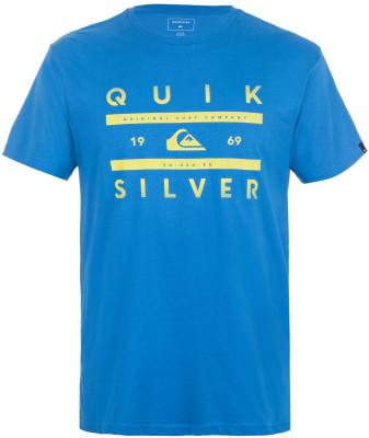 Футболка мужская Quiksilver GridМужская футболка для активного отдыха на пляже от quiksilver. Свобода движений удобный крой гарантирует свободу движений.<br>Пол: Мужской; Возраст: Взрослые; Вид спорта: Surf style; Материалы: 100 % хлопок; Производитель: Quiksilver; Артикул производителя: EQYZT04436; Страна производства: Индия; Размер RU: 44-46;