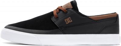 Кеды мужские DC SHOES Wes Kremer, размер 40Кеды <br>Скейтовые кеды dc shoes wes kremer 2 s, созданные в коллаборации с вэсом кремером, - отличный выбор для тех, кто не расстается с доской.