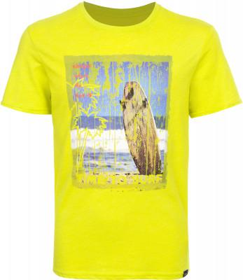 Футболка для мальчиков Termit, размер 146Surf Style <br>Яркая футболка termit подойдет тем, кто предпочитает активно отдыхать на пляже. Свобода движений прямой крой позволяет двигаться свободно.