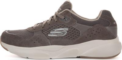 Кроссовки мужские Skechers Meridian-Ostwall, размер 43,5Кроссовки <br>Винтажные кроссовки meridian от skechers - отличный выбор для образа в спортивном стиле.