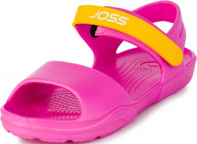 Шлепанцы для девочек Joss G-Sand, размер 28-29Шлепанцы <br>Практичные детские шлепанцы joss g-sand - отличный выбор для занятий плаванием в бассейне. Легкость материал эва делает шлепанцы легкими и удобными.