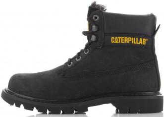Ботинки утепленные мужские Caterpillar Colorado Fur черный цвет ... fb8a263c861