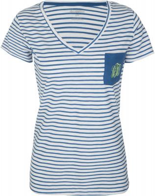 Футболка женская Columbia PFG Monogram Tee, размер 46Футболки<br>Женская футболка от columbia - отличный выбор для поездок и путешествий. Натуральные материалы хлопок в составе для отличного воздухообмена.