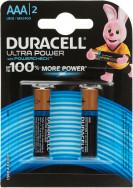 Батарейки щелочные Duracell Ultra Power ААА/LR03, 2 шт.