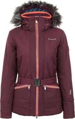 Куртка утепленная женская Glissade, размер 50Куртки <br>Удобная куртка с оригинальным дизайном от glissade - отличный выбор для катания на горных лыжах.