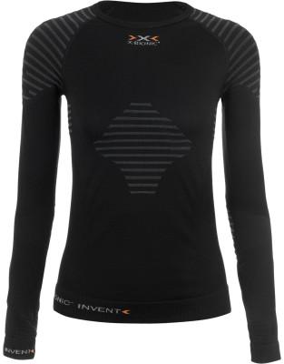 Фуфайка женская X-BionicЖенское термобелье идеально подойдет для занятий спортом и активного отдыха в холодное время года сохранение тепла утепляющая набивка в области плеч и усиленная теплоизляция<br>Пол: Женский; Возраст: Взрослые; Плоские швы: Да; Производитель: X-Bionic; Артикул производителя: I020272-B014; Страна производства: Италия; Материалы: 94% полиамид, 4% полипропилен, 2% эластан; Размер RU: 44;