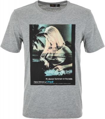 Футболка мужская ONeill Lm Always Summer, размер 48-50Surf Style <br>Мужская футболка с ярким фотопринтом от o neill подойдет для активного пляжного отдыха. Свобода движений прямой крой для максимальной свободы движений.