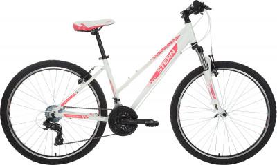 Stern Mira 1.0 26 (2018)Женский горный велосипед для активного отдыха с удобным седлом и надежными ободными тормозами.<br>Материал рамы: Алюминиевый сплав; Размер рамы: 14; Амортизация: Hard tail; Конструкция рулевой колонки: Неинтегрированная; Наименование вилки: 565D 26 1шток 28,6 мм; Конструкция вилки: Пружинно-эластомерная; Ход вилки: 80 мм; Материал педалей: Пластик; Система: Prowheel; Количество скоростей: 21; Наименование переднего переключателя: Shimano Tourney FD-TY300; Наименование заднего переключателя: Shimano TY-300; Конструкция педалей: Классические; Наименование манеток: Shimano Tourney ST-EF41, EZ-Fire; Конструкция манеток: Триггерные двурычажные; Тип переднего тормоза: Ободной; Тип заднего тормоза: Ободной; Материал втулок: Алюминий; Диаметр колеса: 26; Тип обода: Двойной; Материал обода: Алюминий; Наименование покрышек: Chaoyang 26 x 1,95; Возможность крепления боковых колес: Нет; Материал руля: Сталь; Название шифтера: Shimano Tourney ST-EF41, EZ-Fire; Конструкция руля: Изогнутый; Регулировка руля: Да; Регулировка седла: Да; Амортизационный подседельный штырь: Нет; Сезон: 2018; Максимальный вес пользователя: 110 кг; Вид спорта: Велоспорт; Технологии: 6061 Aluminium, Bi-Axial Tubing, Optimized Cycling Geometry; Производитель: Stern; Артикул производителя: 18MIR114M; Срок гарантии: 2 года; Вес, кг: 14,6; Страна производства: Россия; Размер RU: 14;