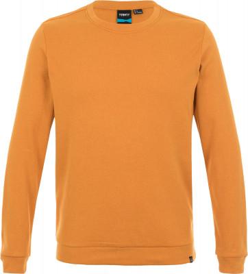 Купить Свитшот мужской Termit, размер 46 оранжевого цвета