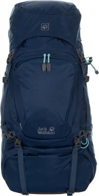 JACK WOLFSKIN DENALI 60 WOMENРюкзаки<br>Классический трекинговый рюкзак объемом 60 8 л с подвеской, разработанной с учетом женской анатомии.