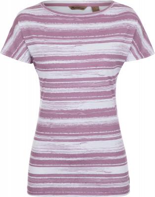 Футболка женская Outventure, размер 52Футболки<br>Интересная футболка от outventure - то что нужно для прогулок и путешествий. Натуральные материалы приятная на ощупь ткань выполнена из натурального хлопка.