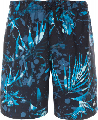 Шорты плавательные для мальчиков Quiksilver DekseyДетские плавательные шорты quiksilver - отличный выбор для активного отдыха на пляже. Свобода движений свободный крой позволяет двигаться естественно.<br>Пол: Мужской; Возраст: Дети; Вид спорта: Пляж; Защита от УФ: Да; Устойчивость к хлору: Да; Гипоаллергенная ткань: Нет; Длина по боковому шву: 24 см; Материал верха: 100 % полиэстер; Производитель: Quiksilver; Артикул производителя: EQBJV03186; Страна производства: Индонезия; Размер RU: 146-152;