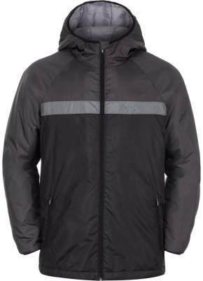 Куртка утепленная мужская DemixУтепленная куртка demix для образа в спортивном стиле даже в прохладные дни. Защита от непогоды в модели предусмотрен капюшон.<br>Пол: Мужской; Возраст: Взрослые; Вид спорта: Спортивный стиль; Вес утеплителя: 150 г/м2; Покрой: Прямой; Светоотражающие элементы: Нет; Длина куртки: Короткая; Наличие карманов: Да; Капюшон: Не отстегивается; Количество карманов: 3; Застежка: Молния; Производитель: Demix; Артикул производителя: DEJAM0299M; Страна производства: Вьетнам; Материал верха: 100 % полиэстер; Материал подкладки: 100 % полиэстер; Материал утеплителя: 100 % полиэстер; Размер RU: 48;
