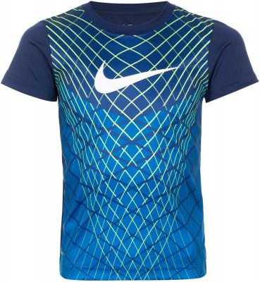 Футболка для мальчиков NikeФутболка для тренинга от nike разработана специально для малышей. Отведение влаги ткань с технологией nike dri-fit обеспечивает эффективный влагоотвод.<br>Пол: Мужской; Возраст: Малыши; Вид спорта: Тренинг; Покрой: Свободный; Технологии: Nike Dri-FIT; Производитель: Nike; Артикул производителя: 86C459-B9K; Страна производства: Вьетнам; Материалы: 100 % полиэстер; Размер RU: 110;
