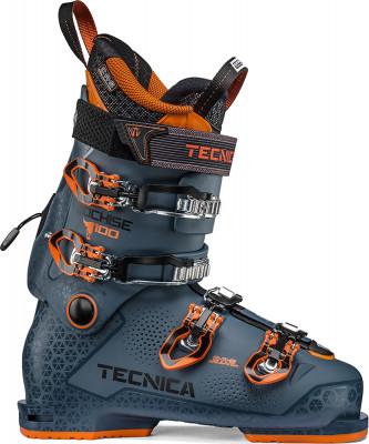 Ботинки горнолыжные Tecnica Cochise 100, размер 40,5Ботинки<br>Ботинки tecnica с формуемым лайнером, жесткостью 100 и колодкой 99 см обеспечивают повышенный комфорт и оптимальные характеристики для фрирайда.