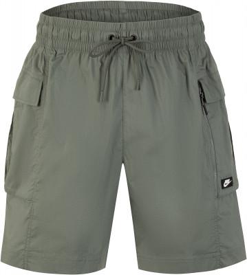 Шорты мужские Nike Sportswear, размер 52-54Шорты<br>Шорты-карго от nike - идеальное завершение образа в спортивном стиле. Натуральные материалы в составе ткани преобладает натуральный хлопок.