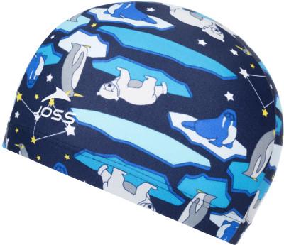 Шапочка для плавания для мальчиков JossУдобная и яркая детская шапочка для плавания от joss - это отличный выбор для похода в бассейн.<br>Пол: Мужской; Возраст: Дети; Вид спорта: Плавание; Назначение: Универсальные; Материалы: 80 % полиамид, 20 % спандекс; Производитель: Joss; Артикул производителя: BSC04A7M2; Страна производства: Китай; Размер RU: Без размера;