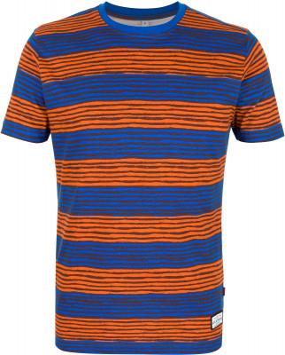 Футболка мужская Exxtasy Watsonvile, размер 50-52Surf Style <br>Мужская футболка от exxtasy для яркого пляжного образа. Комфортная посадка зауженная модель с продуманным кроем для комфортной посадки по фигуре.