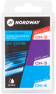 Набор лыжный: мазь для лыж Nordway, 3 шт.