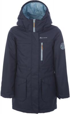 Куртка утепленная для девочек Outventure, размер 152Куртки <br>Куртка для девочек outventure - отличный выбор для путешествий. Защита от влаги ткань с обработкой add dry water resistant защищает от мелкого дождя.