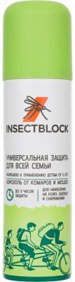 Аэрозоль от комаров и мошек InsectblockСпрей insectblock против насекомых - эффективный репеллент в форме аэрозоля от комаров и мошек. Универсальная защита для всей семьи.<br>Производитель: Insectblock; Артикул производителя: EIBOE001G2; Страна производства: Россия; Размер RU: Без размера;