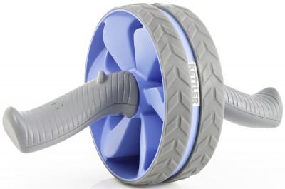 Ролик для пресса Kettler AB Wheel DoubleОдин из самых эффективных тренажеров для укрепления мышц брюшного пресса, создания отличного рельефа и формы живота.<br>Тренируемые группы мышц: Живот, плечи; Размер в рабочем состоянии (дл. х шир. х выс), см: 29 x 18,2; Вес, кг: 0,64; Состав: Полипропилен, термоэластопласт, сталь; Вид спорта: Фитнес; Производитель: Kettler; Артикул производителя: 7361-805; Срок гарантии: 2 года; Страна производства: Китай; Размер RU: Без размера;