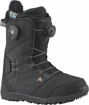 Купить со скидкой Сноубордические ботинки женские Burton Felix Boa, размер 38,5