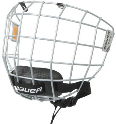 Маска для шлема хоккейная детская Bauer ProdigyЗащитная маска для защиты лица игрока. Изготовлена из нержавеющей стали. Имеет хорошо просчитанную форму окон, не препятствующую видению площадки, не бликует.<br>Пол: Мужской; Возраст: Дети; Вид спорта: Хоккей; Уровень подготовки: Начинающий; Материалы: Нержавеющая сталь, пена стандартной плотности; Сертификация: CSA/ HEC / CE; Вентиляция: Есть; Производитель: Bauer; Артикул производителя: 1046914; Срок гарантии: 1 год; Страна производства: Таиланд; Размер RU: Без размера;