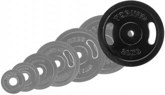 Блин Torneo стальной, 20 кг