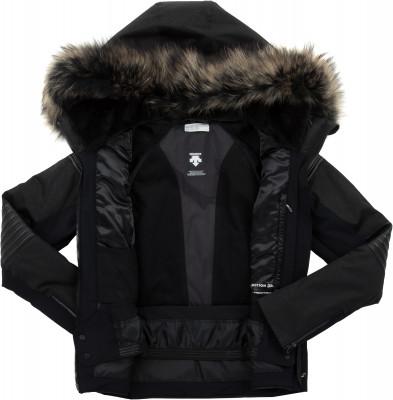 Фото 7 - Куртку утепленная женская Descente Cicily, размер 42 черного цвета