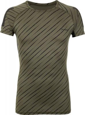 Футболка мужская Demix, размер 52Футболки<br>Компрессионная футболка от demix - отличный выбор для тренинга. Свобода движений продуманный крой с рукавами реглан позволяет двигаться свободно и естественно.