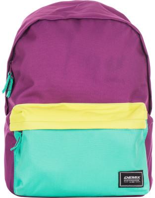 Рюкзак DemixОтличное качество, хорошая цена! Молодежный рюкзак спортивного стиля сделан из прочного износостойкого полиэстера, устойчивого к выцветанию.<br>Пол: Мужской; Возраст: Взрослые; Вид спорта: Спортивный стиль; Объем: 15 л; Размеры (дл х шир х выс), см: 31.5 x 12 x 40; Отделение для ноутбука: Есть; Количество отделений: 2; Производитель: Demix Basic; Артикул производителя: CUCG01_LU0; Страна производства: Китай; Материал верха: 100 % полиэстер; Материал подкладки: 100 % полиэстер; Размер RU: Без размера;