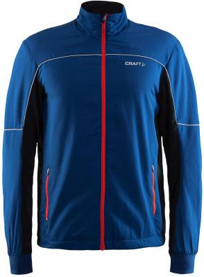 Куртка мужская CraftТеплая ветронепроницаемая куртка станет отличным выбором для начинающих лыжников и любителей неспешных лыжных прогулок.<br>Пол: Мужской; Возраст: Взрослые; Вид спорта: Беговые лыжи; Защита от ветра: Есть; Покрой: Прямой; Дополнительная вентиляция: Есть; Длина куртки: Средняя; Капюшон: Отсутствует; Количество карманов: 2; Артикулируемые локти: Да; Производитель: Craft; Артикул производителя: 1904284; Страна производства: Китай; Материал верха: 100 % полиэстер; Материал подкладки: 100 % полиэстер; Материал утеплителя: 100 % полиэстер; Размер RU: 50;