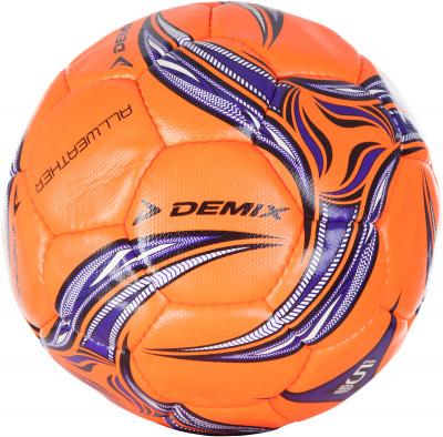 Мяч футбольный DemixФутбольный мяч для тренировок от demix.<br>Сезон: 2017; Возраст: Взрослые; Вид спорта: Футбол; Тип поверхности: Универсальные; Назначение: Тренировочные; Материал покрышки: Синтетическая кожа; Материал камеры: Резина; Способ соединения панелей: Ручная сшивка; Количество панелей: 32; Вес, кг: 0,410-0,445; Производитель: Demix; Артикул производителя: DF55WE25; Страна производства: Пакистан; Размер RU: 5;