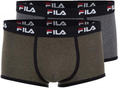 Трусы мужские Fila, размер 54Бельё<br>Удобные трусы-боксеры из хлопкового трикотажа от fila. Комфортная посадка продуманный крой и эластичная резинка обеспечивают максимальное удобство.