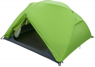 Outventure Ridge 2Легкая и надежная трекинговая палатка. Продуманная конструкция позволяет увеличить внутренний объем.<br>Назначение: Трекинговые; Количество мест: 2; Наличие внутренней палатки: Да; Тип каркаса: Внутренний; Геометрия: Полусфера; Водонепроницаемость: Высокая; Ветроустойчивость: Высокая; Вес, кг: 3; Размер в собранном виде (д х ш х в): 280 х 215 х 110 см; Размер в сложенном виде (дл. х шир. х выс), см: 61 х 18 х 18; Размер тамбура (д х ш х в): 215 х 80 х 110 см; Количество комнат: 1; Количество входов: 2; Вентиляционные окна: Да; Количество вентиляционных окон: 2; Диаметр дуг: 8,5 мм; Внешний тент: Да; Усиленные углы: Да; Количество оттяжек: 4; Водонепроницаемость тента: 3000 мм в.ст.; Водонепроницаемость дна: 7000 мм в.ст.; Проклеенные швы: Да; Противомоскитная сетка: Да; Материал тента: Нейлон с силиконовым покрытием; Материал внутренней палатки: Полиэстер; Материал дна: Полиэстер; Материал каркаса: Алюминий; Материал колышков: Сталь; Вид спорта: Походы; Производитель: Outventure; Артикул производителя: EOUOT002G2; Срок гарантии: 2 года; Страна производства: Китай; Размер RU: Без размера;