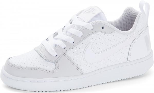 ca1b6de7 Кеды для девочек Nike Court Borough Low белый цвет — купить за 3299 руб. в  интернет-магазине Спортмастер