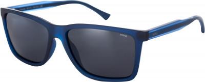 Солнцезащитные очки мужские InvuСолнцезащитные очки из основной коллекции invu classic.<br>Возраст: Взрослые; Пол: Мужской; Цвет линз: Серый; Цвет оправы: Синий матовый, прозрачный; Назначение: Городской стиль; Ультрафиолетовый фильтр: Да; Поляризационный фильтр: Да; Зеркальное напыление: Нет; Категория фильтра: 3; Материал линз: Полимер; Оправа: Пластик; Вид спорта: Активный отдых; Технологии: Ultra Polarized; Производитель: Invu; Артикул производителя: B2721B; Срок гарантии: 1 месяц; Страна производства: Китай; Размер RU: Без размера;