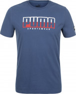 Футболка мужская Puma Athletics Tee Big Logo