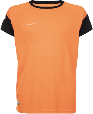 Футболка для мальчиков Demix, размер 170Футболки и майки<br>Удобная и практичная модель для футбольных игр и тренировок от demix. Отведение влаги технология movi-tex гарантирует эффективный влагоотвод.