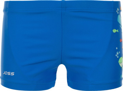 Плавки-шорты для мальчиков Joss, размер 122Плавки, шорты плавательные<br>Яркие плавки от joss станут удачным вариантом для занятий плаванием. Защита от хлора эластичные волокна creora highclo гарантируют устойчивость ткани к хлорированной воде.