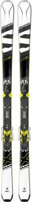 Salomon X-MAX X8 + M XT10 C90 (17/18)Карвинговые лыжи x-max x8 от salomon - отличный выбор для прогрессирующих лыжников.<br>Сезон: 2017/2018; Назначение: Подготовленные склоны; Уровень подготовки: Прогрессирующий; Крепления в комплекте: Да; Пол: Мужской; Возраст: Взрослые; Вид спорта: Горные лыжи; Конструкция: Гибрид; Геометрия: 120 - 73 - 104 мм; Радиус бокового выреза: 13 м; Дуги: Средние; Прогиб: Смешанный; Тип прогиба: Carve Rocker; Жесткость: Средняя; Сердечник: Woodcore; Материал сердечника: Дерево; Система креплений: Платформа; Производитель креплений: Salomon S.A.S.; Модель креплений: XT10; Усилие срабатывания крепления: 3-10 DIN; Ширина ски-стопа: 90 мм; Конструкция носка: Automatic Wing adjustement; Высота крепления: 27 мм; Регулировка размера крепления: Да; Рекомендуемый вес пользователя: 30-107 кг; Технологии: Carve Rocker, Oversize Active Contact Sidewall, PowerFrame, Progressive Radius Sizing, Pulse Pad; Производитель: Salomon; Артикул производителя: 398866K; Срок гарантии на лыжи: 2 года; Срок гарантии на крепления: 5 лет; Размер RU: 162;