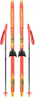 Комплект лыжный детский Nordway Flame 75 мм